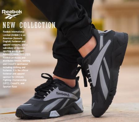 کفش مردانه reebok مدل hanz (طوسی)