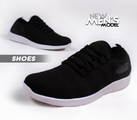 کفش مردانه Gucciمدل Gana(مشکی سفید)