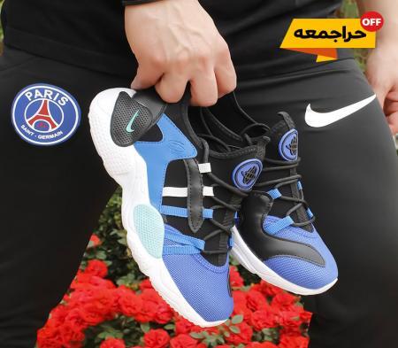 کفش مردانه nike مدل ALPA (مشکی آبی)